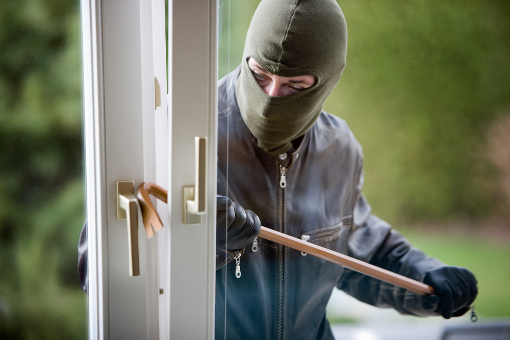 'Anywhere outside the Pale seems to be an easy target for burglars'