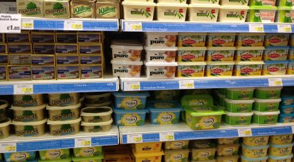 Eating butter is ok, but too much margarine could kill you!