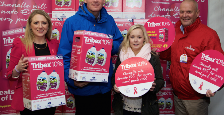Tribex 10% goes pink for the Irish Cancer Society