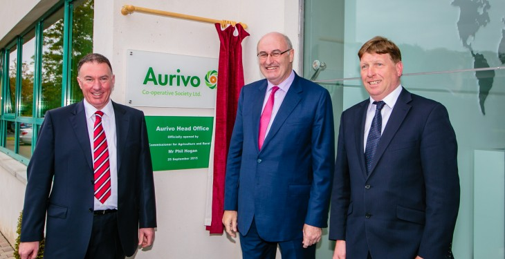 New Aurivo headquarters opened by Commissioner Hogan