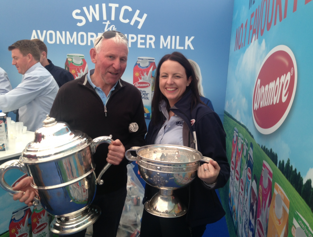 Larry Bergin, Castlecomer and Donna Coffey, Glanbia.
