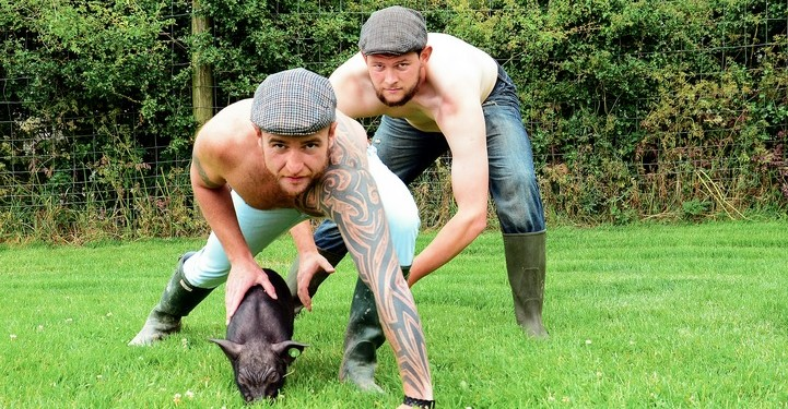 The topless Irish farmer calendar is going stateside