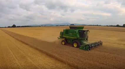 Video: Handsfree spring barley harvesting in Carlow