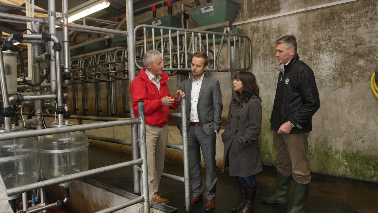 Polish and Portuguese dairy buyers visit Ireland