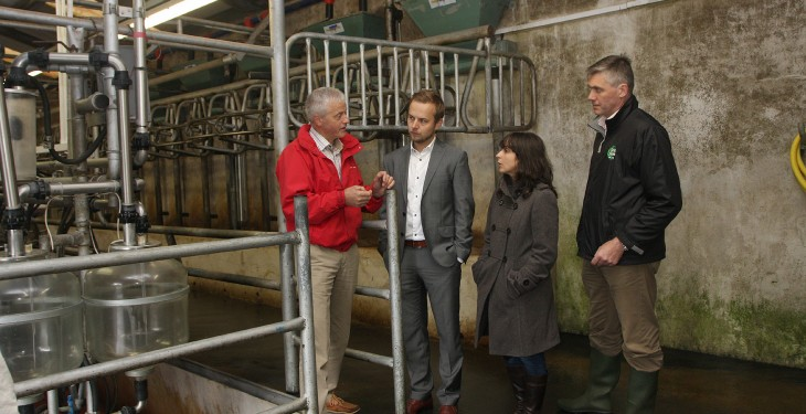 Polish and Portuguese dairy buyers visit Ireland