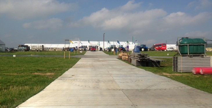 Preparations well underway in Co. Laois for Ploughing 2015