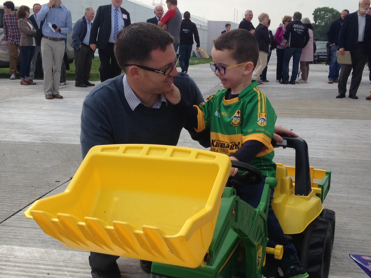 John Kelly (4) at the launch of the Ploughing
