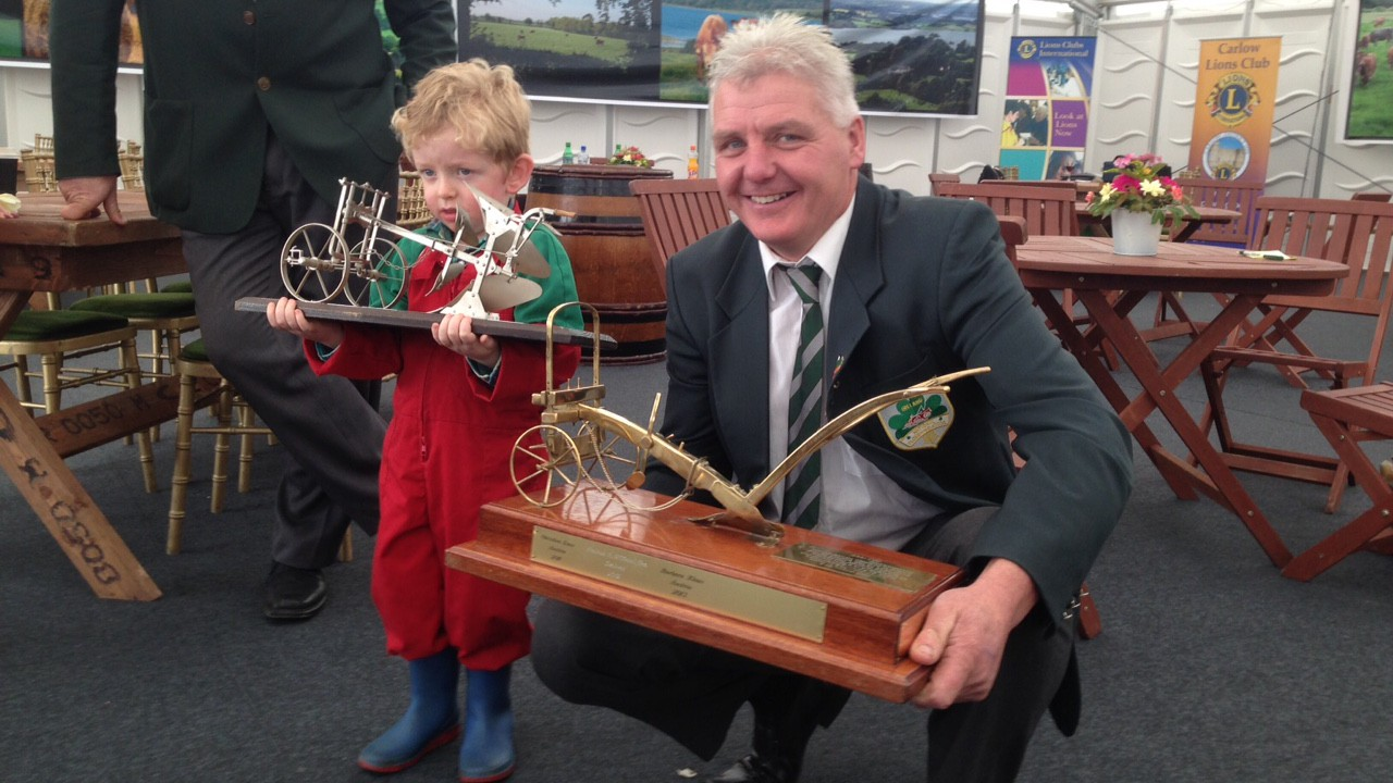 Champion ploughman ready for the 2016 Ploughing finals