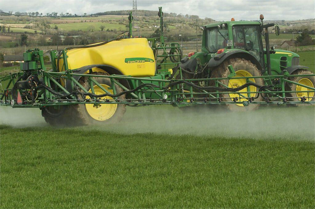 Pesticide Spraying - Photo O'Gorman Photography.