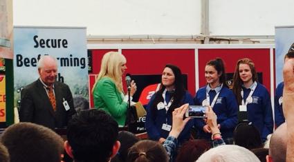 Finalists in Irish Angus Beef School Competition receive calves