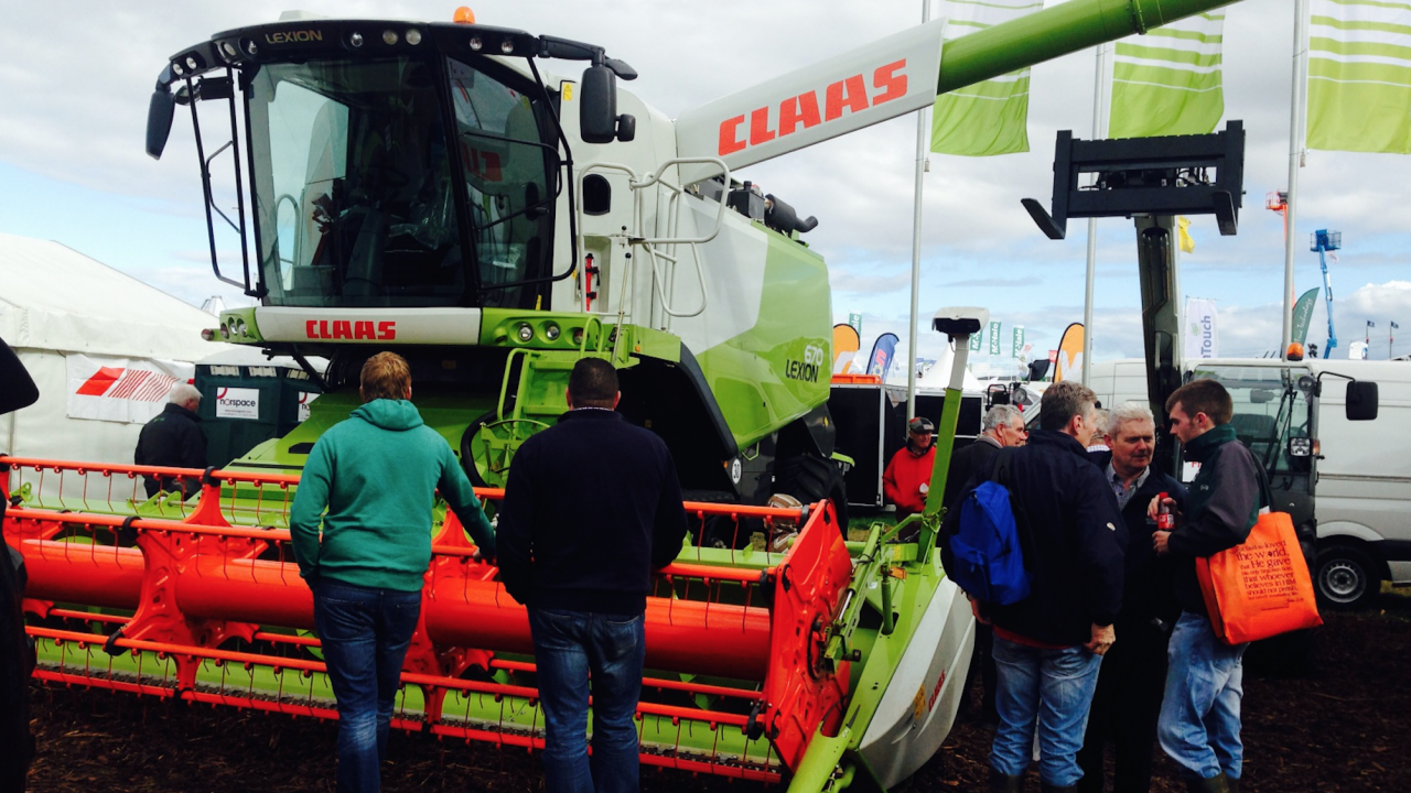 The most expensive machine at the Ploughing