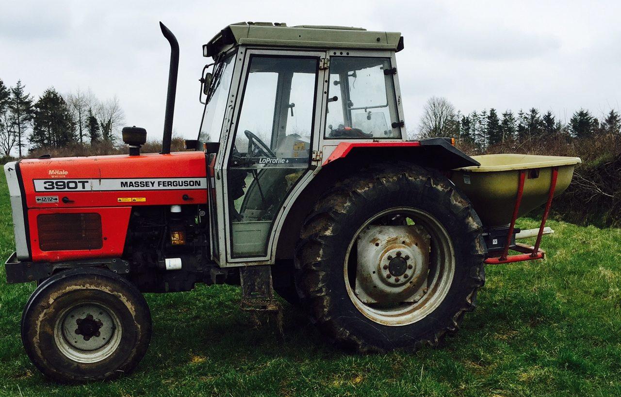 MF 390 series still popular with farmers