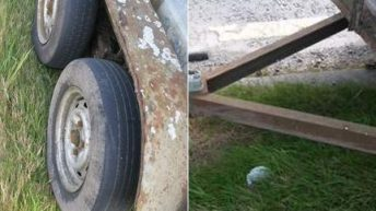 'I thought I'd be okay going a short journey' – not a worthy excuse for faulty trailer