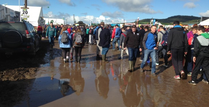Ploughing Day 2 – Sunny start but rain on the horizon