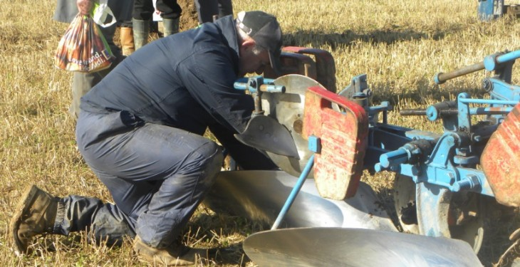 Ploughing results from Day One 2015