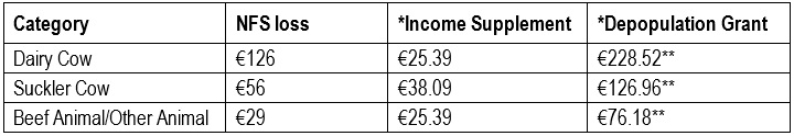 IFA TB payment proposal
