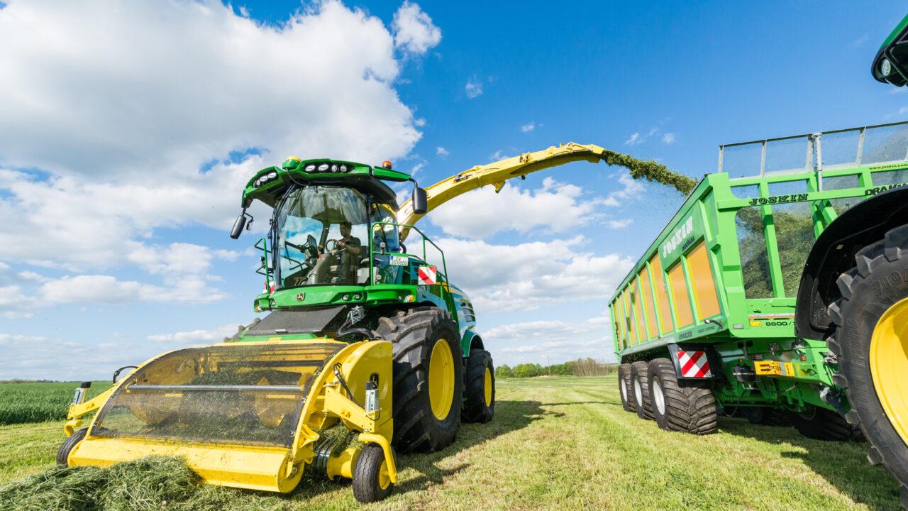 John Deere adds new models to self-propelled forage harvester range