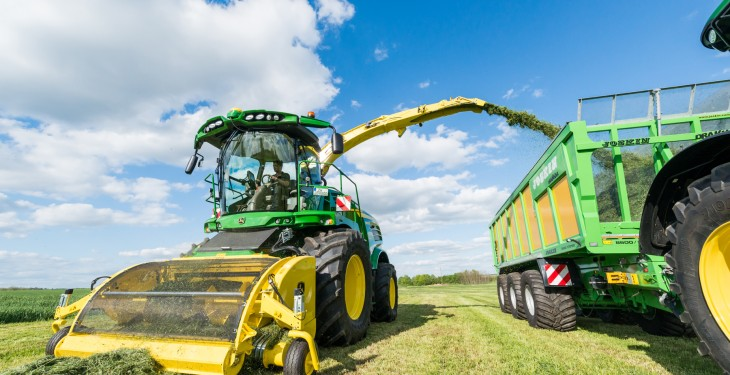 John Deere adds new models to self-propelled forage harvester range