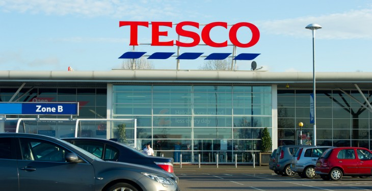 Tesco sees half-year earnings drop 70%, sales down 1.3%
