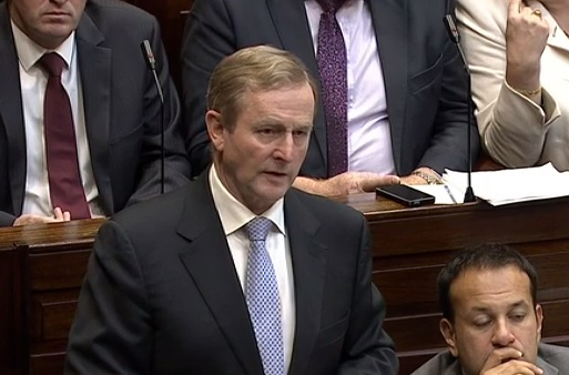 Enda Kenny visits IFA HQ today to woo the farmer vote