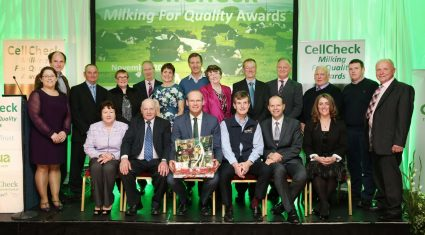 500 milk suppliers awarded by Cellcheck for low SCC