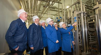 Glanbia opens €15m UHT milk processing facility in Monaghan