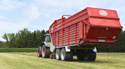 Lely has expanded its Tigo loader wagon range