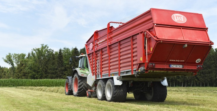 Lely has expanded its Tigo loader wagon range