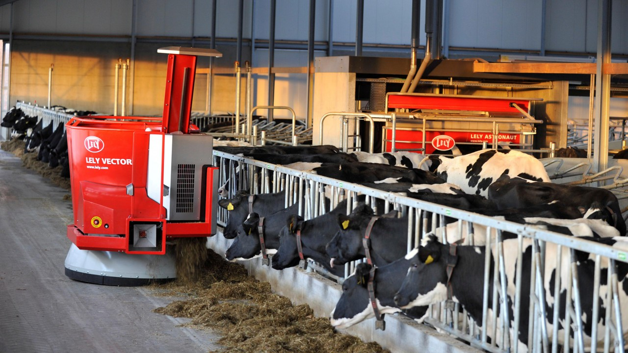 Lely T4C Vector provides reports designed to improve feed efficiency