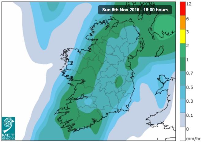 Weather, Met Eireann,