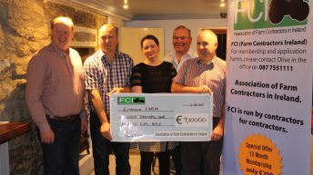 Farm contractors raise €18,000 for Embrace FARM and Galway Hospice