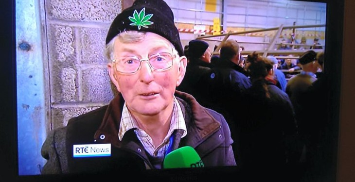 That farmer with the hash hat has burnt it!