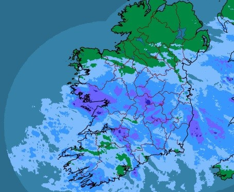 WEATHER WARNING: Up to 3 inches of rain to fall in places today