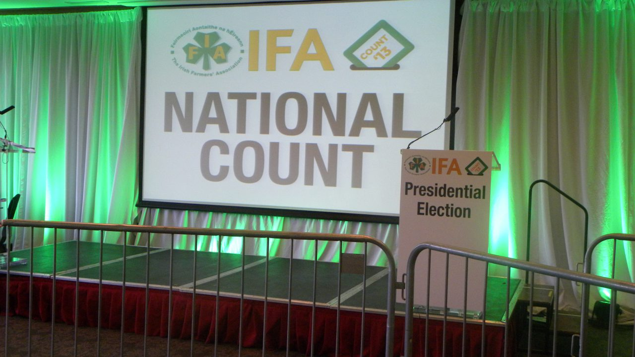 Joe Healy sets out his stall early for IFA President
