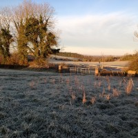 Wintry showers, frost and below freezing temperatures in store this weekend
