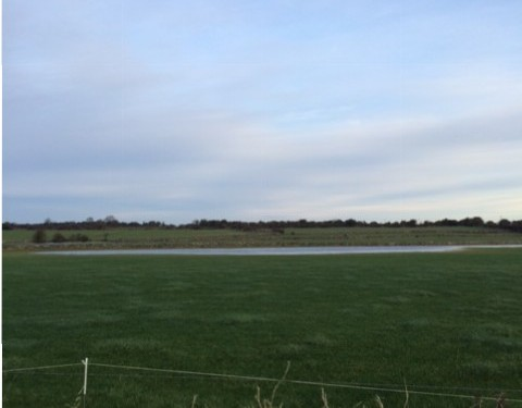 Pics: Storm Frank causes more flooding on farmland