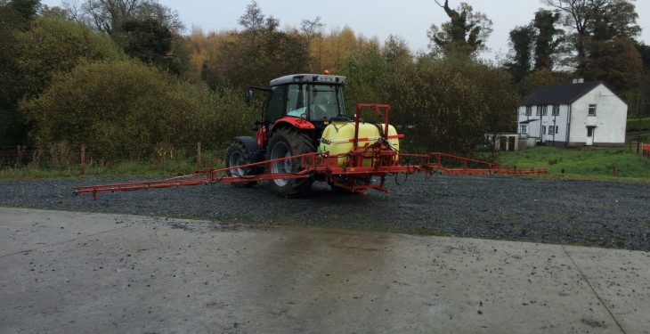 Large proportion of sprayers yet to be tested ahead of deadline