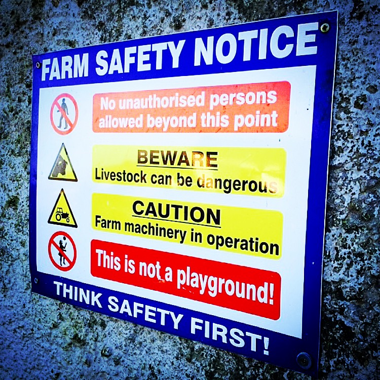Farm Safety notice