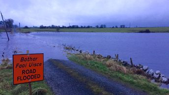 Ireland received an entire winter's rainfall during the second half of December
