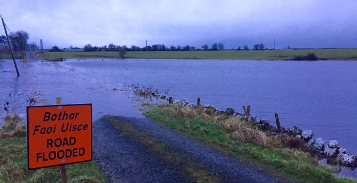Over €600,000 paid out in flood relief payments to date