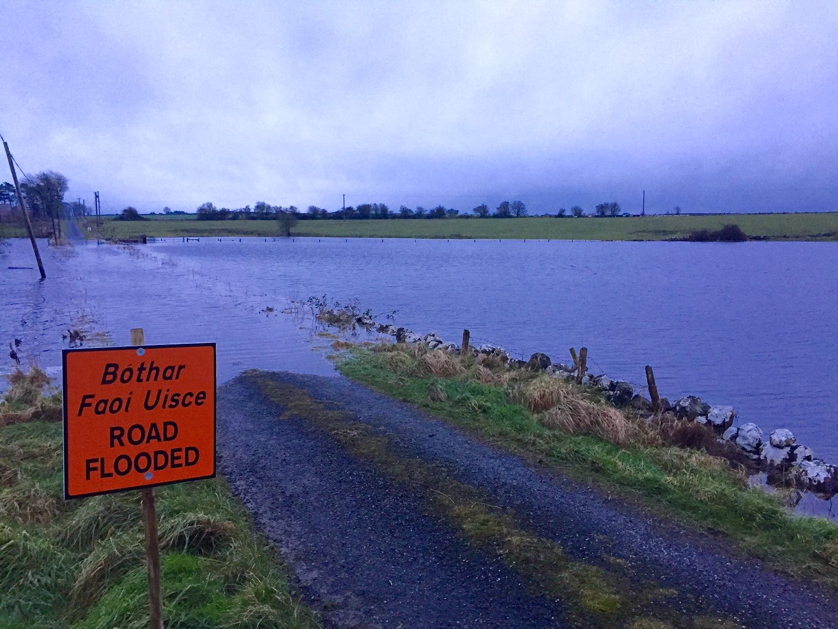 Flooding, Fodder