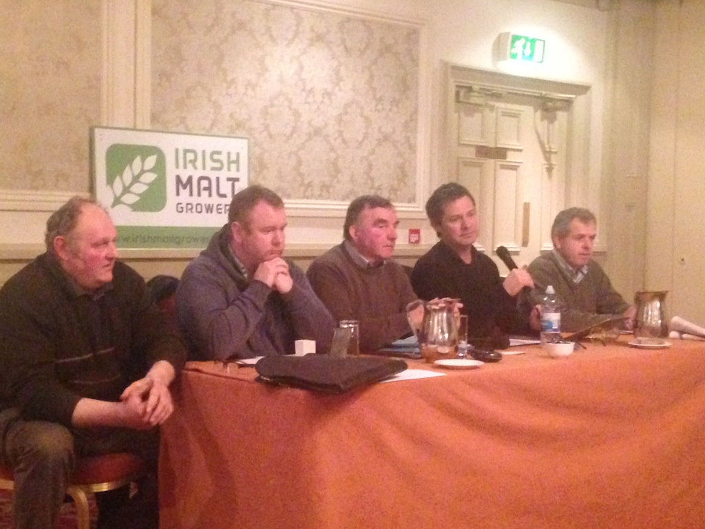 Irish Malt Growers meeting.