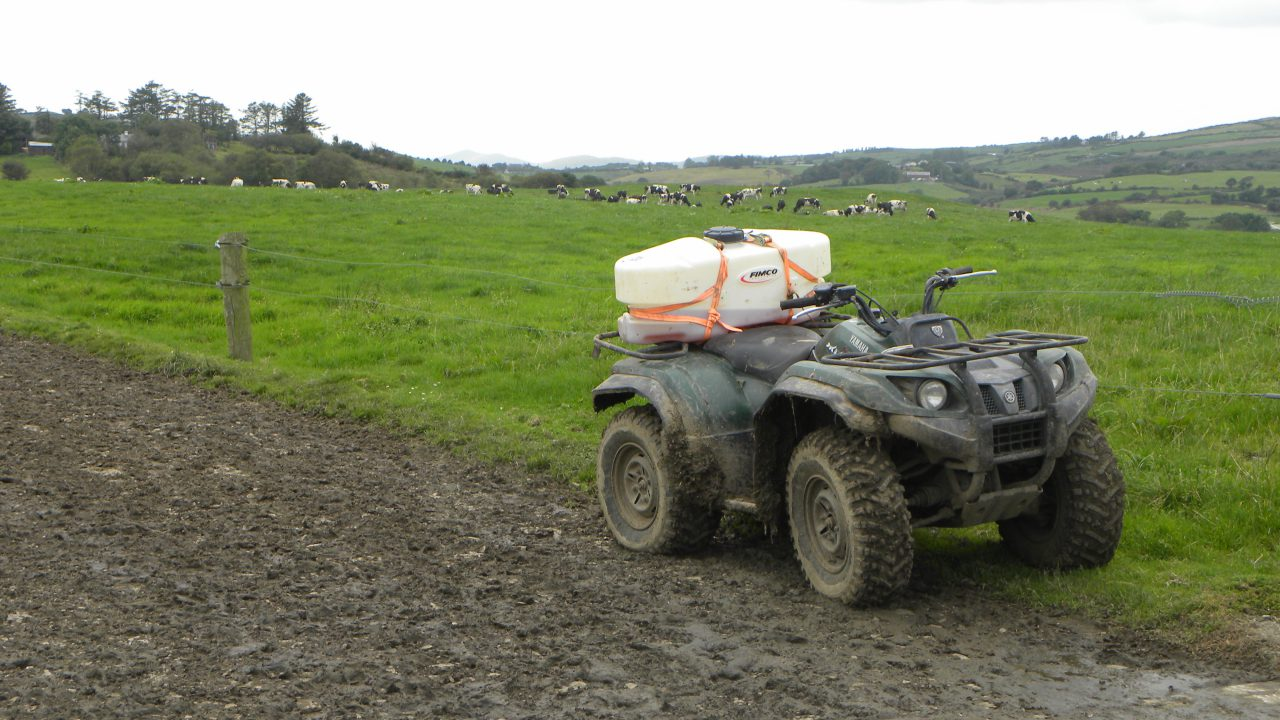 83% of farmers do not wear a helmet when driving a quad