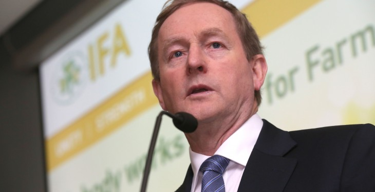 IFA pays tribute to Enda Kenny following news of his retirement
