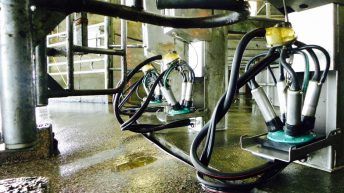 Handy tips to keep milking equipment from freezing