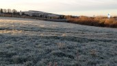 Cold spell in store with frost patches remaining