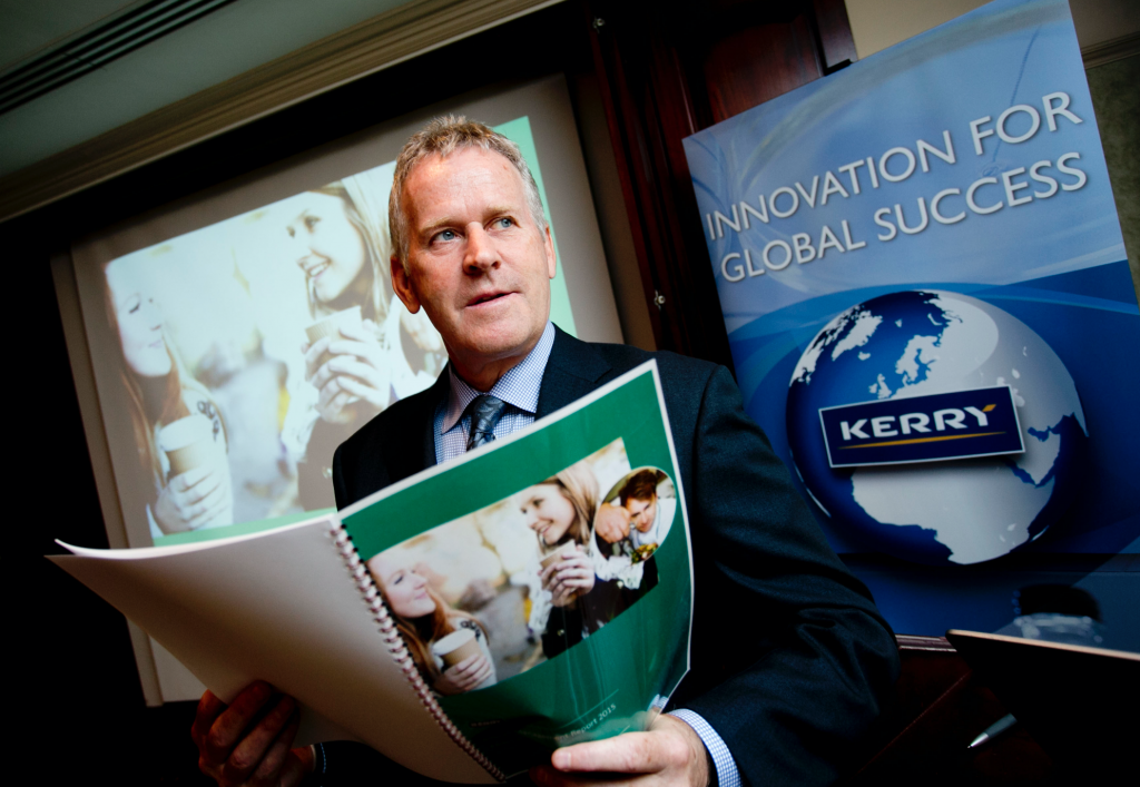 Kerry Group CEO Stan McCarthy.