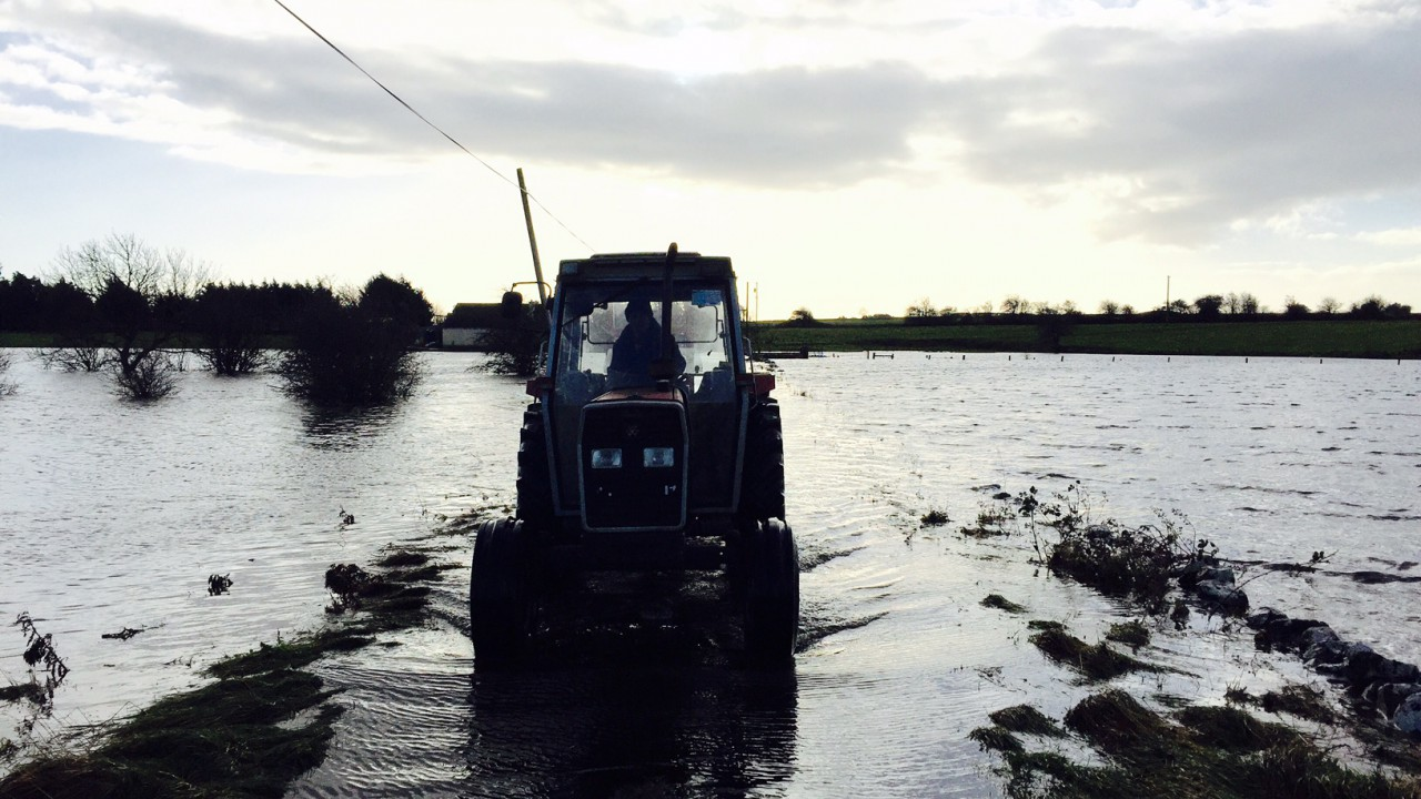 Rainfall levels 250% the norm in parts as farmers battle waterlogged ground