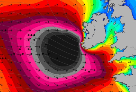Thousands of homes without power as  Storm Imogen batters the country