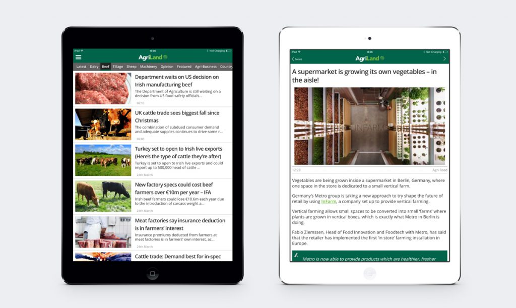 We've completely redesigned the layout on tablet devices to improve the reading experience